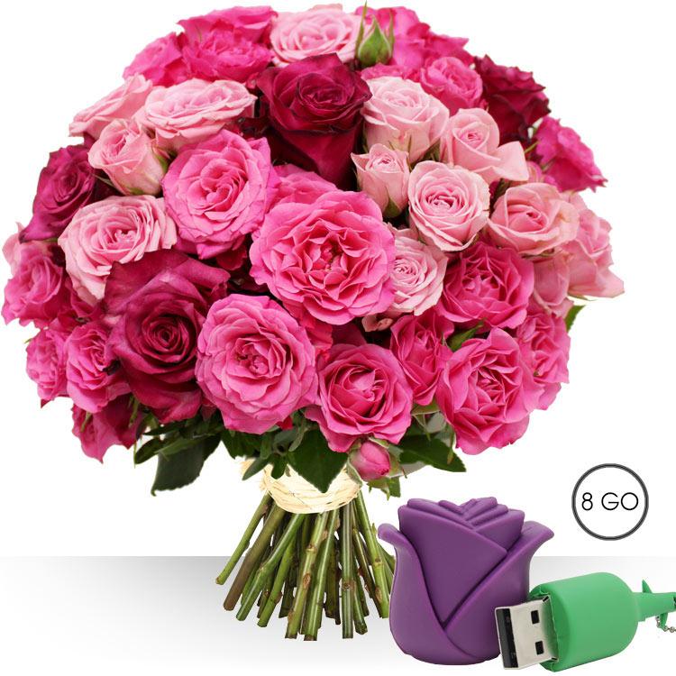 Achat et livraison bouquets de fleurs et cadeaux for Bouquet de fleurs livraison
