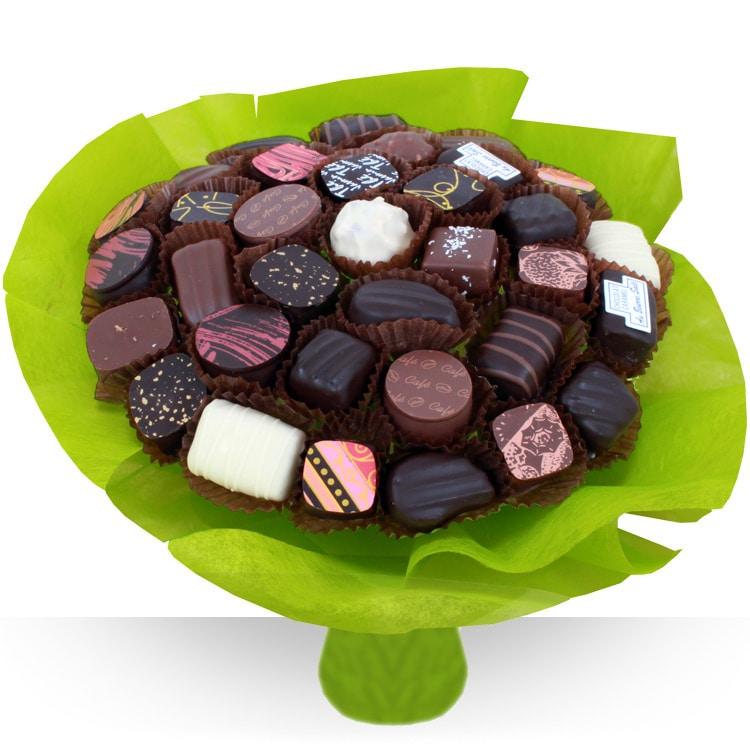 Fleuriste gourmand bouquet de chocolats xl for Fleurs livraison demain