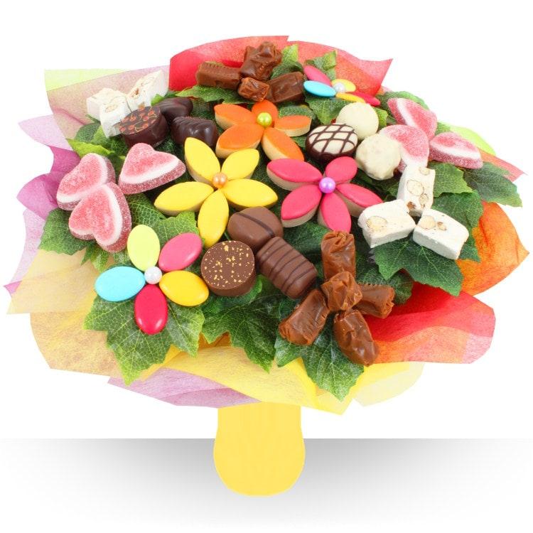 Bouquet De Fleurs Chocolat