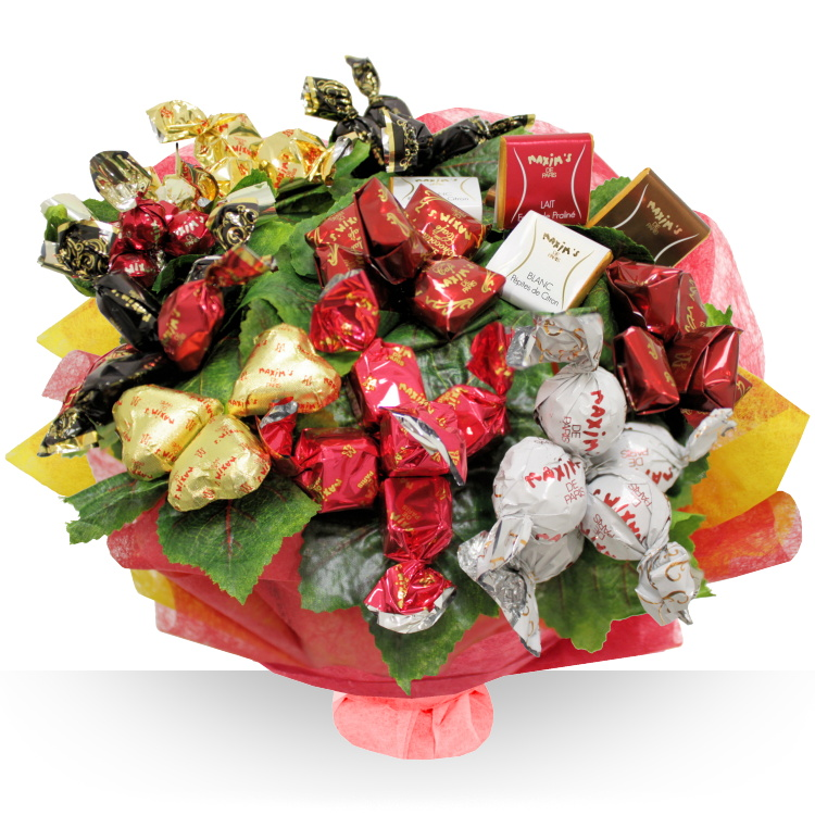 Fleuriste gourmand bouquet maxims for Bouquet fleuriste