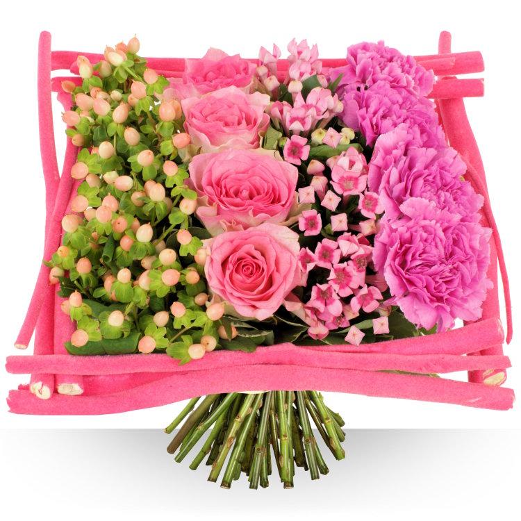 Anniversaire carr phnicien for Bouquet de fleurs un