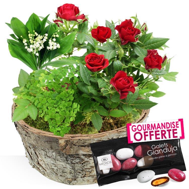 1er mai composition muguet for Bouquet de fleurs muguet