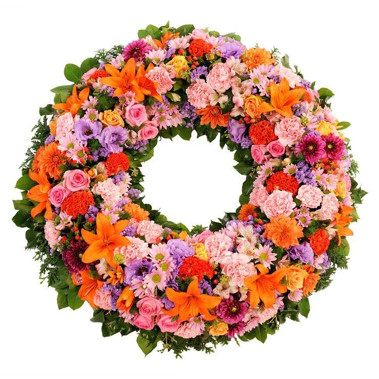 Deuil couronne condolances for Fleurs et cadeaux