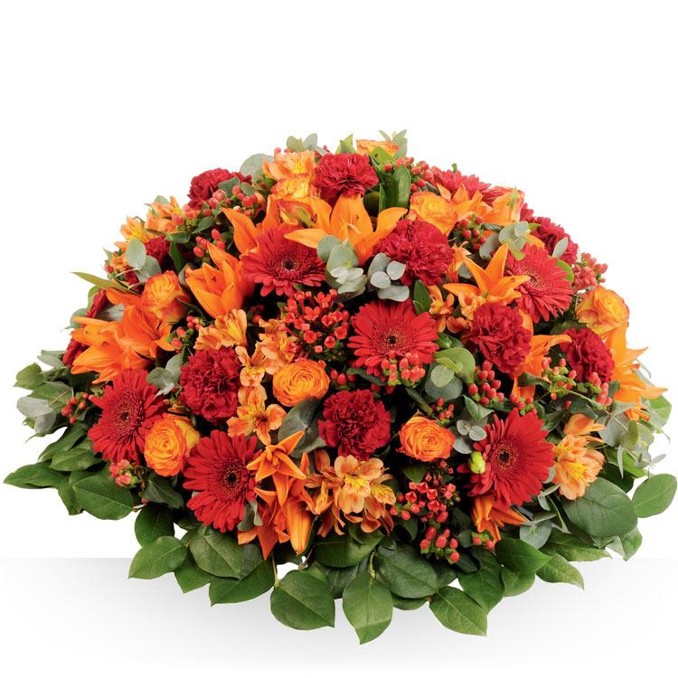 Deuil coussin de deuil for Fleurs livraison demain