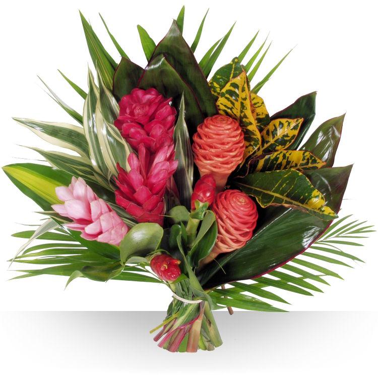 Anniversaire exotique for Bouquet exotique
