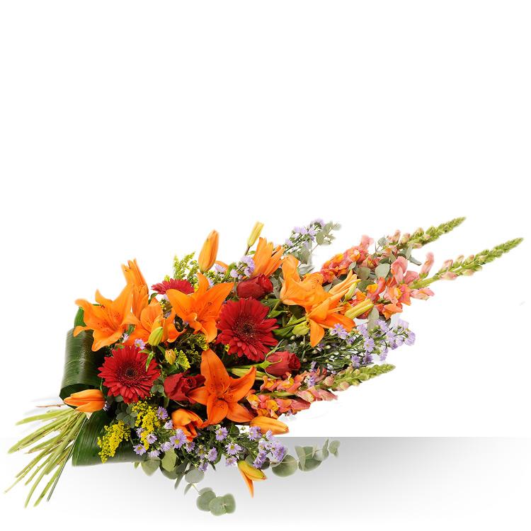 Deuil gerbe main for Fleurs et cadeaux