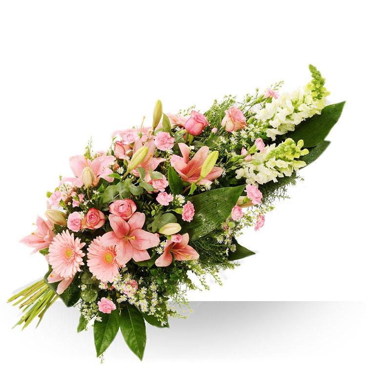 Deuil gerbe pique for Fleurs et cadeaux