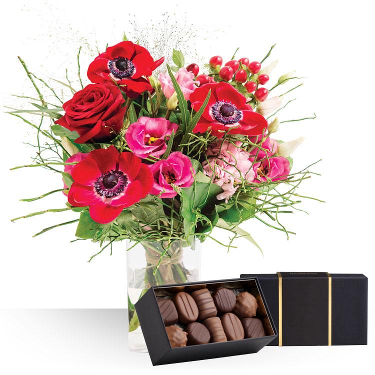 livraison express i love you et ses chocolats. Black Bedroom Furniture Sets. Home Design Ideas
