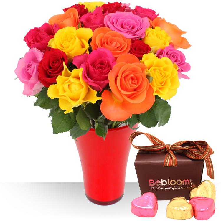 Achat et livraison bouquets de fleurs et cadeaux for Fleurs livraison demain