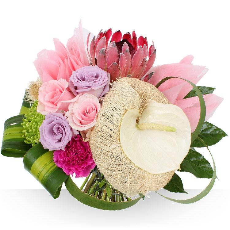 Bouquet mariage livraison de fleurs et cadeaux aux maris - Bouquet de fleurs pour table mariage ...