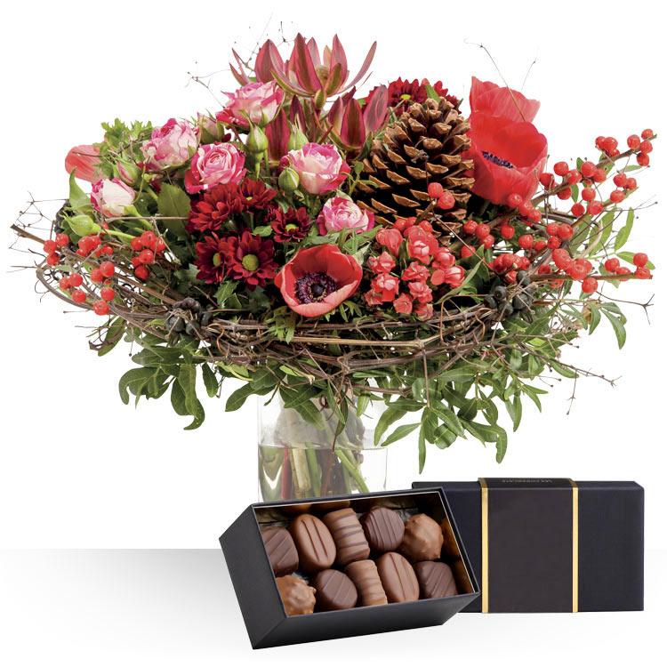 livraison express tradition de nol et ses chocolats. Black Bedroom Furniture Sets. Home Design Ideas