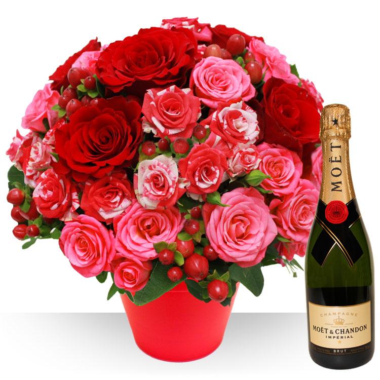 Saint valentin saint valentin et champagne for Fleurs et cadeaux