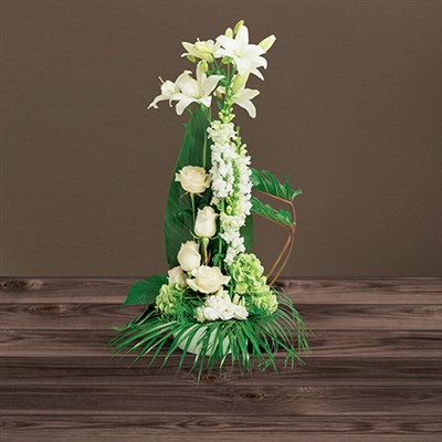 faire livrer fleurs deuil livraison de fleurs. Black Bedroom Furniture Sets. Home Design Ideas