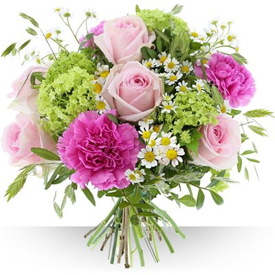 Livraison de fleurs avec le fleuriste for Bouquet de fleurs printemps