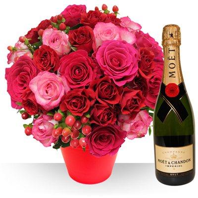 Saint valentin livraison de fleurs pour les valentins for Bouquet saint valentin