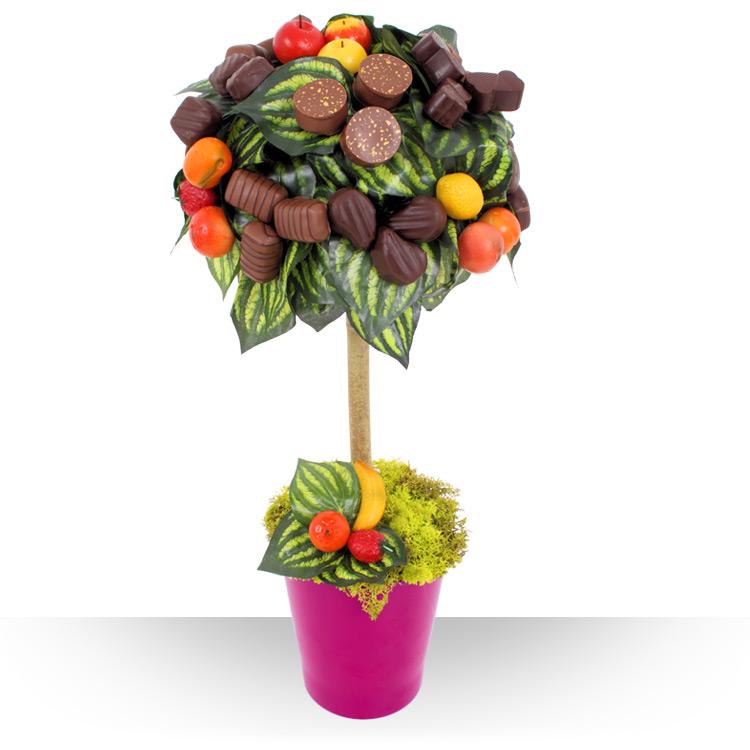 Fleuriste Gourmand - ARBRE CHOCOLAT -