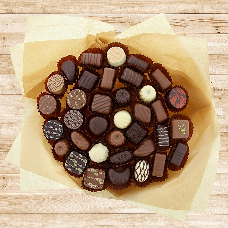 Fleuriste gourmand : Bouquet de Chocolats XL