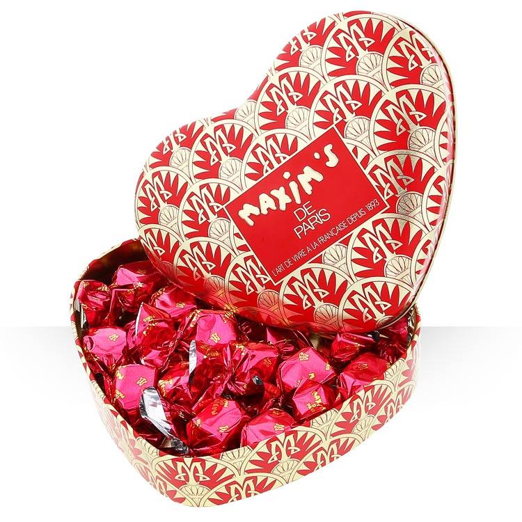 Objets cadeaux - CŒUR CHOCOLATS MAXIM'S -