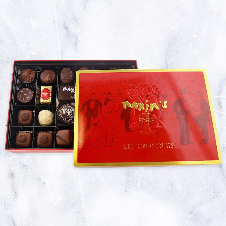 Anniversaire - COFFRET DE CHOCOLATS MAXIM'S -