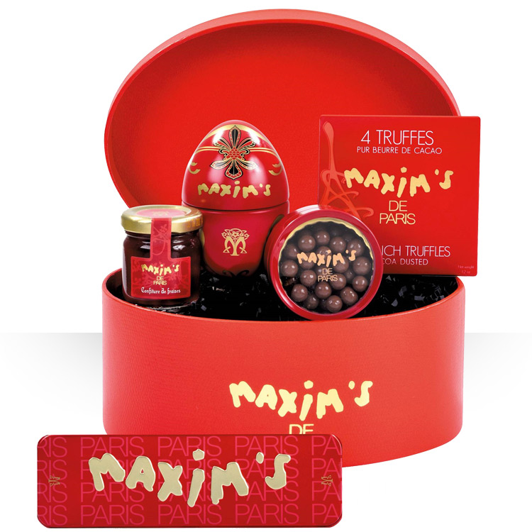 <b>Spécial Fêtes</b> - COFFRET MAXIM'S -