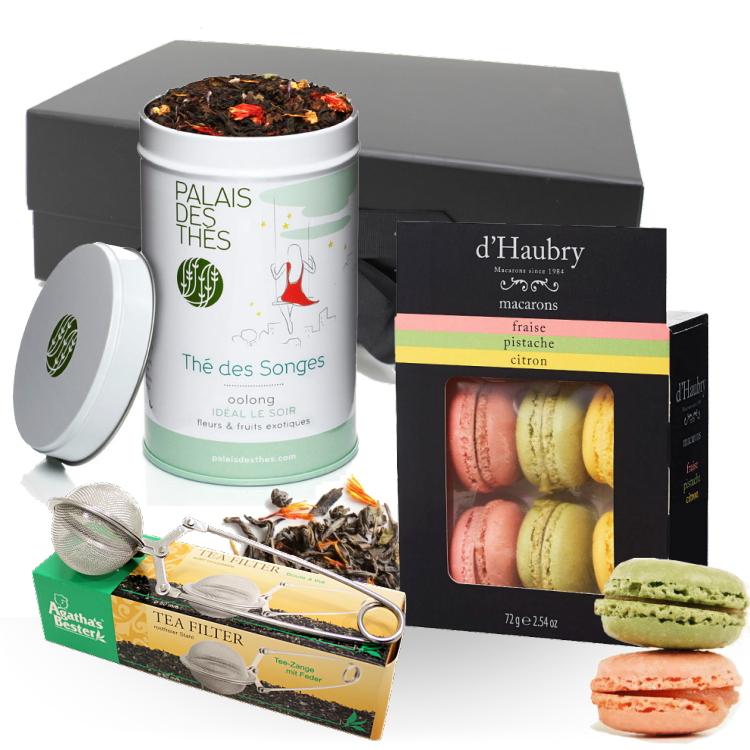 Objets cadeaux - COFFRET TEA TIME -