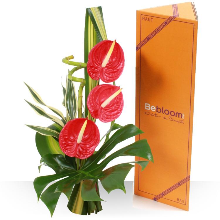 Mini bouquets - DÉDICACE ROUGE -