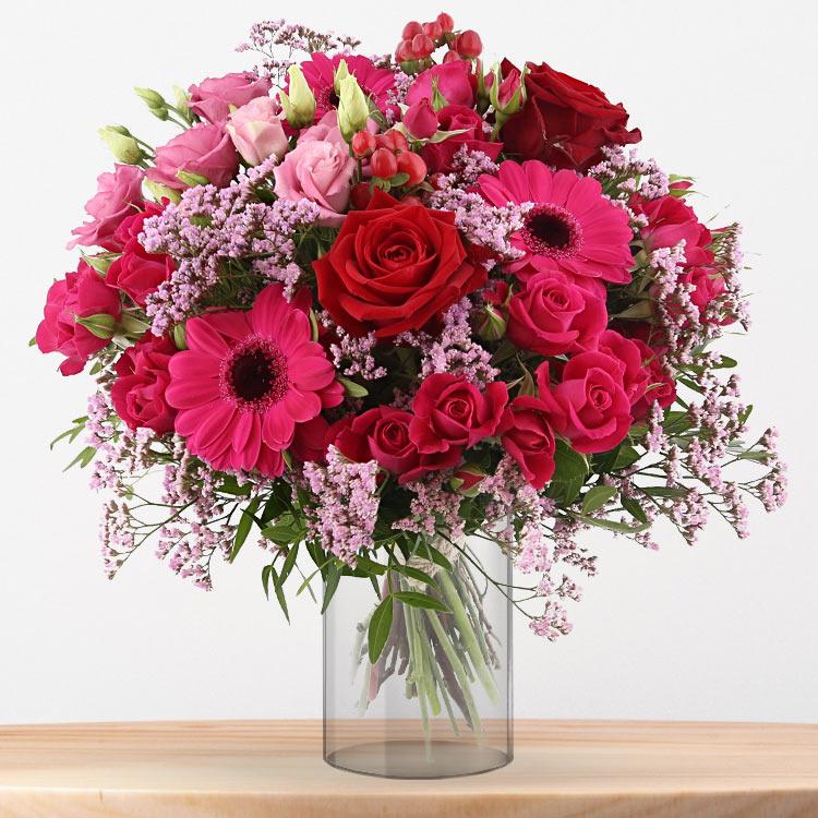 <b>Saint Valentin</b> - FRESH KISS ET SON VASE -
