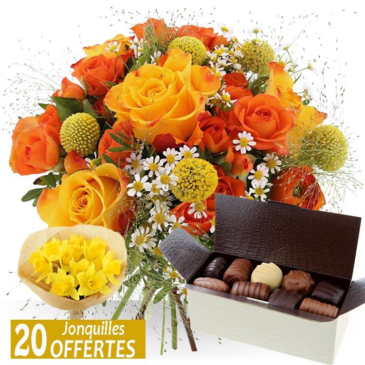 <b>Fête des Grand-Mères</b> - GRAND-MÈRE ET CHOCOLATS -