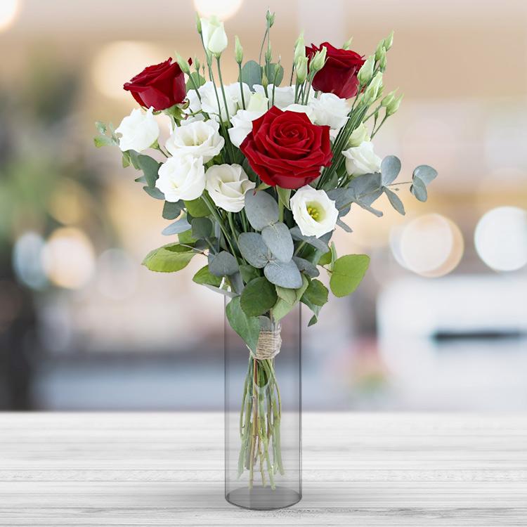 <b>Saint Valentin</b> - LOVE & PASSION ET SON VASE -