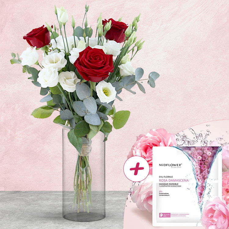 <b>Saint Valentin</b> - LOVE & NATURE ET SON MASQUE FLORAL -