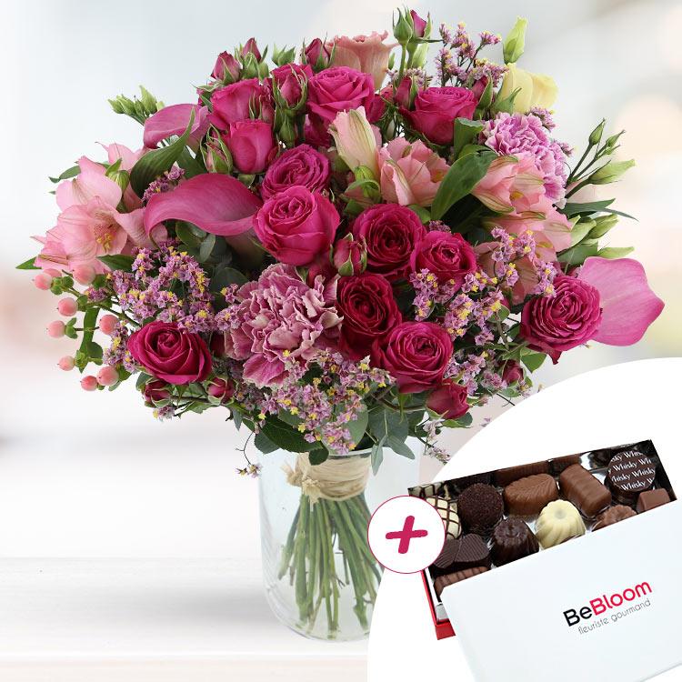 Anniversaire - LOVELY ROSE XL ET SES CHOCOLATS -