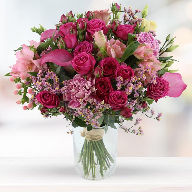 Amour - LOVELY ROSE XL ET SON VASE -