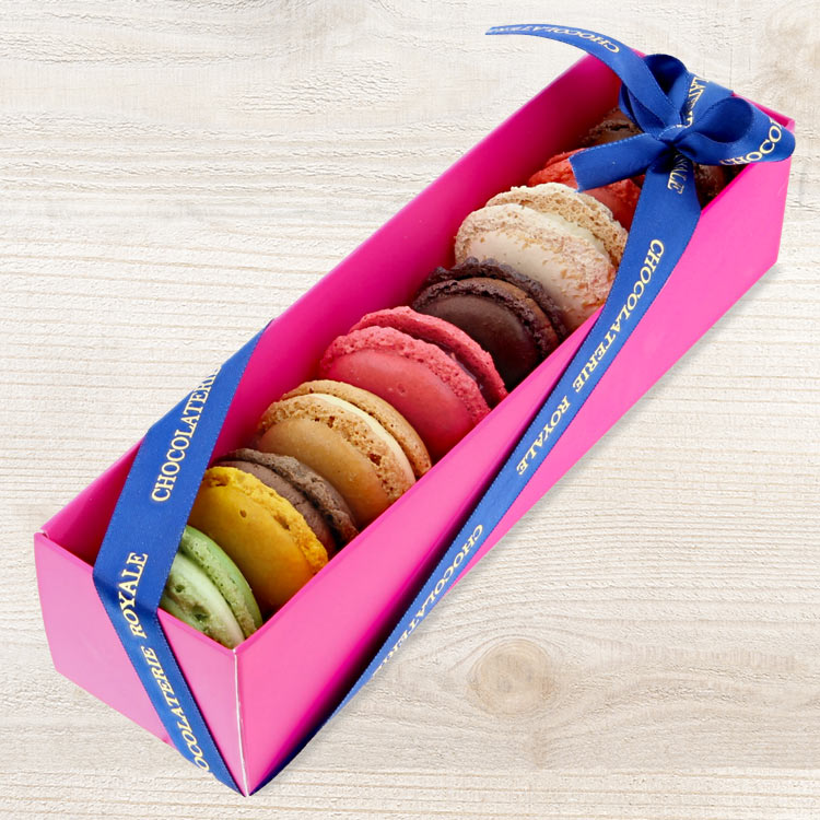 Remerciements - MACARONS CHOCOLATERIE ROYALE -