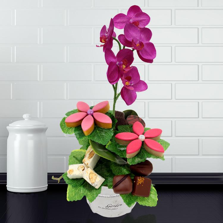 Fleuriste gourmand : Orchidee gourmande
