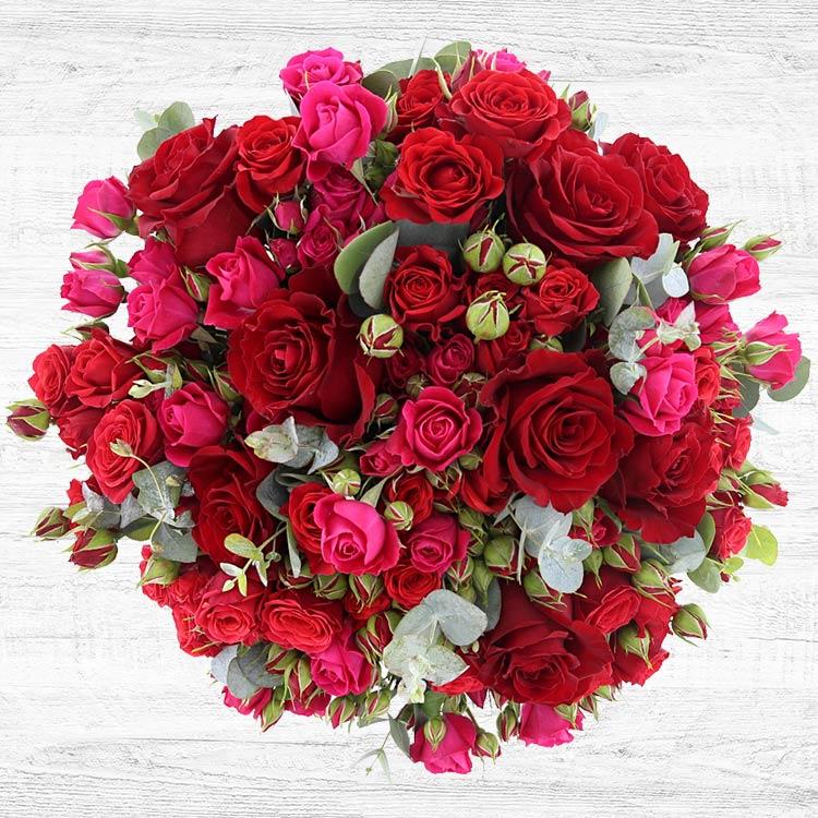 <b>Saint Valentin</b> - RED SYMPHONIE XL -