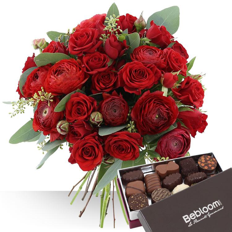 <b>Saint Valentin</b> - SAINT-VALENTIN ET CHOCOLATS -