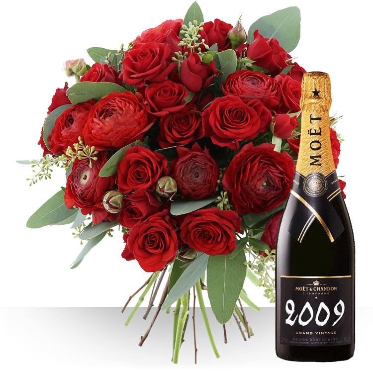 <b>Saint Valentin</b> - ST-VALENTIN ET CHAMPAGNE -