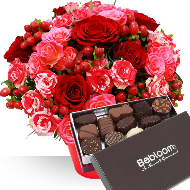 <b>Saint Valentin</b> - ST-VALENTIN ET CHOCOLATS XL -
