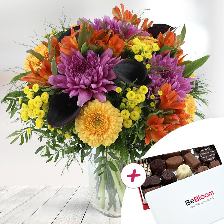 Fleuriste Gourmand - SUNNY WINTER ET SES CHOCOLATS -