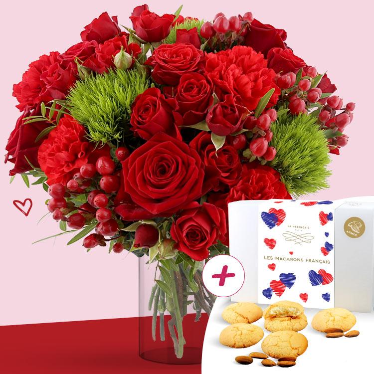 <b>Saint Valentin</b> - SWEET VALENTINE XL ET SES MACARONS FRANÇAIS -