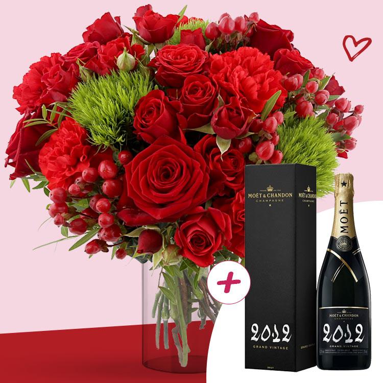 <b>Saint Valentin</b> - SWEET VALENTINE XL ET SON CHAMPAGNE -