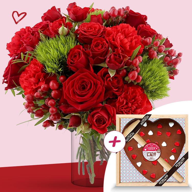 <b>Saint Valentin</b> - SWEET VALENTINE XL ET SON CŒUR GÉANT -