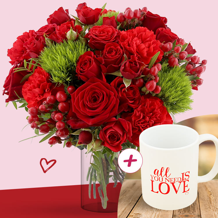 <b>Saint Valentin</b> - SWEET VALENTINE XL ET SON MUG -