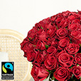 Amour> -101 ROSES ROUGES -