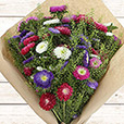 Collection Été> -BOUQUET DE REINES-MARGUERITES MULTICOLORES XXL -
