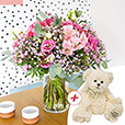 Collection Automne - PINK POLKA ET SON OURSON -