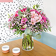 Collection Automne - PINK POLKA ET SON VASE -