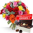 <b>Fête des Grand-Mères</b> - ROSES ET CHOCOLATS OFFERTS -