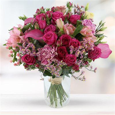 Lovely Rose et son vase