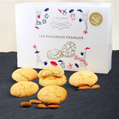Macarons français aux amandes et zestes d'oranges